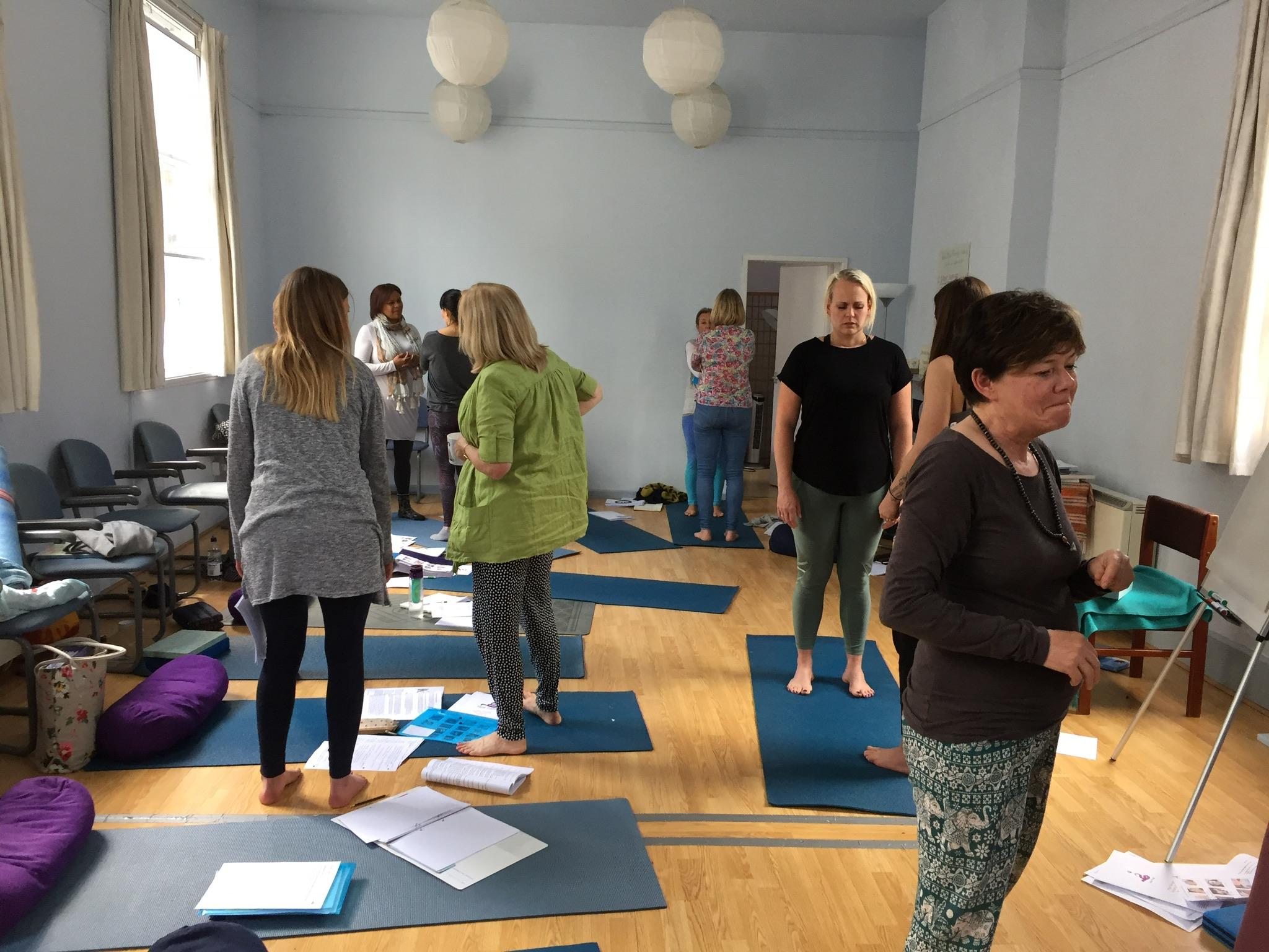 Post graduate yoga therapy